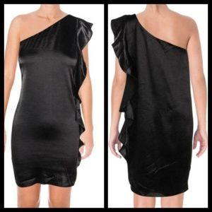 NWT Aqua One Shoulder Mini Dress Size Large